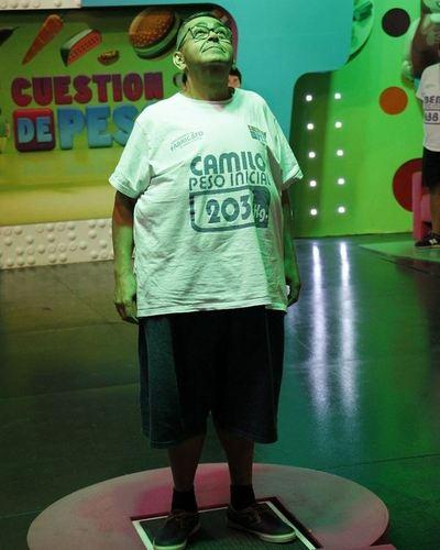 Camilo confesó que se divorcio por culpa de la obesidad