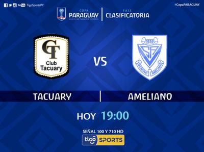 Tacuary versus Ameliano, por Tigo Sports