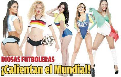 Diosas paraguayas vibran con sus equipos favoritos
