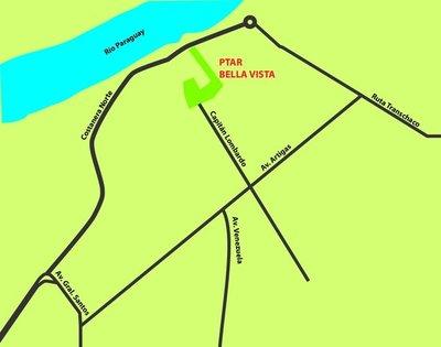 Construcción de Planta de Tratamiento de Aguas Bella Vista aguarda venia comunal
