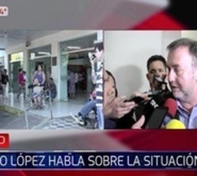 Titular de IPS culpa a antecesores por colapso de hospital