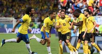 En el duelo estelar Brasil choca contra Bélgica