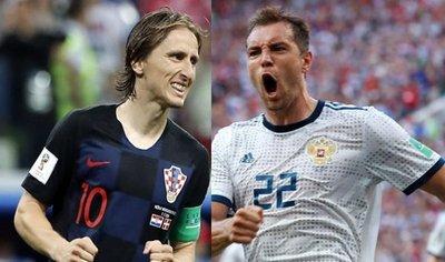 Rusia y Croacia, por igualar sus mejores presentaciones