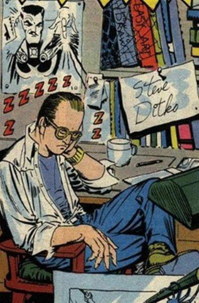 Ditko, una leyenda del cómic