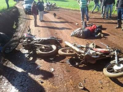 UN MENOR DE 14 AÑOS FALLECIÓ Y SU PRIMO DE 10 QUEDÓ GRAVE EN ACCIDENTE DE MOTOCICLETA.