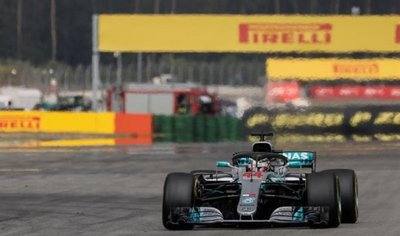 Lewis Hamilton remonta y gana en Hockenheim