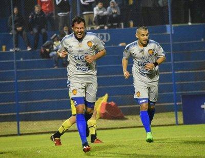 Luqueño goleó a Recoleta por la Copa Paraguay