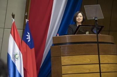 Presidenta de Taiwán confirma agenda para asunción de Abdo Benítez