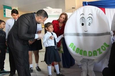 PARAGUAY PONE EN MARCHA SU CAMPAÑA PARA DESPARASITAR A 900.000 ESCOLARES