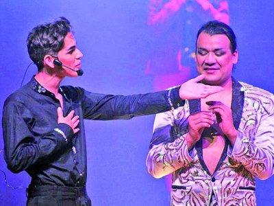 Humorista consagrado e instagramer, un dúo que triunfa en los escenarios