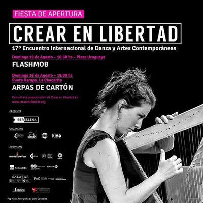"""Se inicia nueva edición de encuentro de danza y artes """"Crear en Libertad"""""""