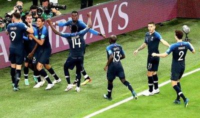 Francia es finalista del Mundial de Rusia 2018