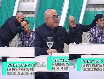 Domingo Coronel le pidió perdón a panelista y aclaró que no es homofóbico