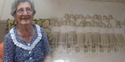 Ex compañera de Chiquitunga recuerda sus días en la Escuela Normal de Villarrica