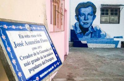 Creación de la Guarania: legado universal de José A. Flores