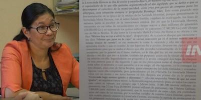 """DECLARACIÓN DE IRALA PONE A MIRTA HERRERA EN LOS """"PEDALES DE LA BICICLETEADA"""""""