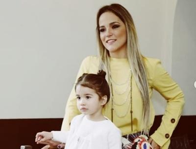 Karina Doldan Celebró El Tercer Cumpleaños De Su Hija Zoe