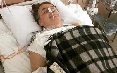 """Jair Bolsonaro habló desde el hospital: """"Nunca le hice mal a nadie"""""""
