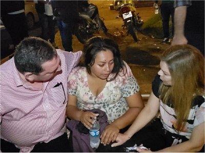 Destrozos, heridos y detenidos en sendos ataques pro y anti Zacarías