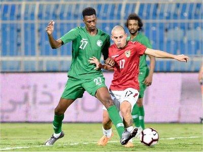 Bolivia se lleva de Riad un empate ante Arabia Saudí