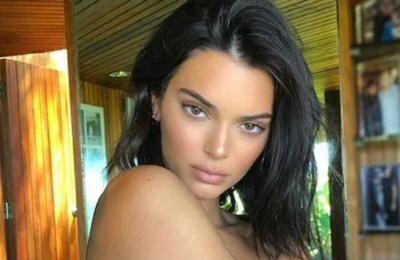 Filtran fotos de Kendall Jenner completamente desnuda