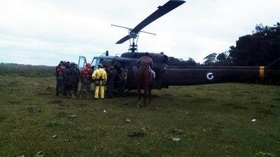 Prosiguen los trabajos para la extracción de avión siniestrado en Ayolas