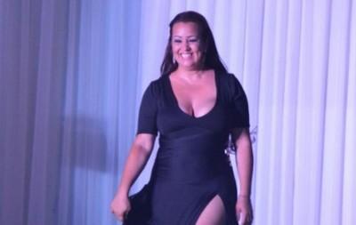 La ex modelo Noelia Arce volvió a subir a la Línea 27