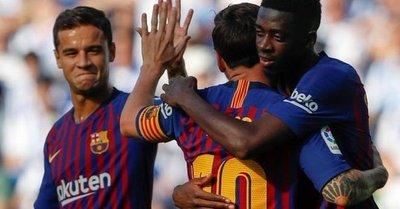 El Barça remonta para acabar con el maleficio