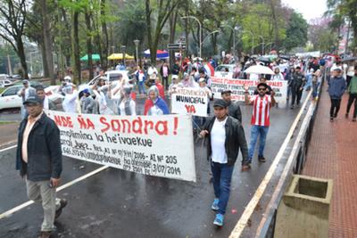 Expo Corrupción y marcha contra los Zacarías