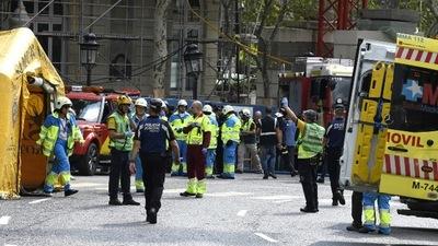 Un muerto y al menos 11 heridos en un derrumbe en las obras del hotel Ritz de Madrid