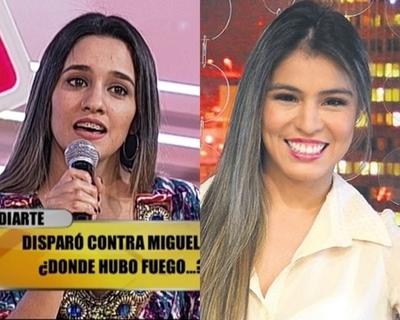 Sofía Diarte imitó a Nadia Portillo