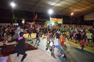Con mucha zumba arranca fiesta de la juventud en Mbocayaty