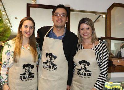 Quaker celebró el mes de la avena