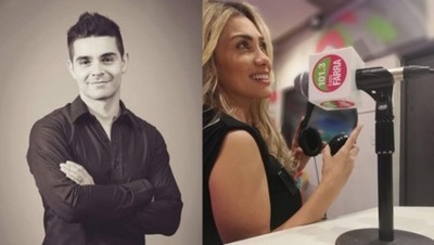 La modelo Susana Coronel es la nueva compañera radial de Hugo Barrios