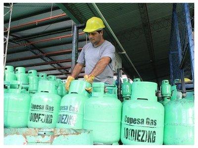 El precio del gas subirá G. 1.000 por kilo