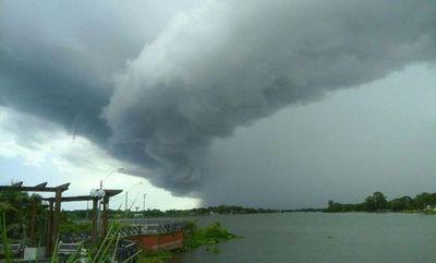 Anuncian tormentas para el Sur del país