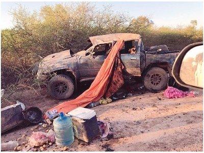 Filmaron fatal accidente en el Transchaco Rally  [Video]