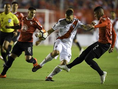 River vs Independiente y Gremio vs Tucumán, por cuartos