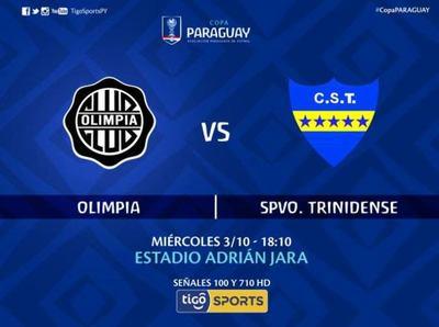 Olimpia vs Trinidense, por Tigo Sports