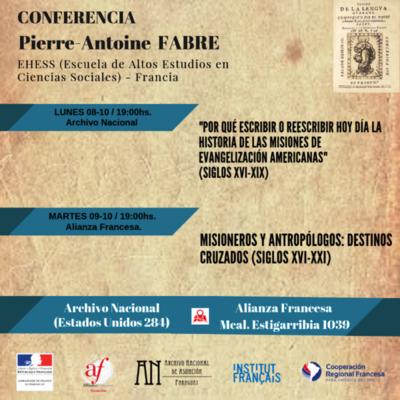 Historiador francés dará conferencia sobre las Misiones Jesuíticas