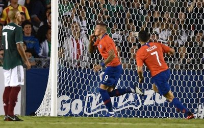 Chile se impuso México por la mínima