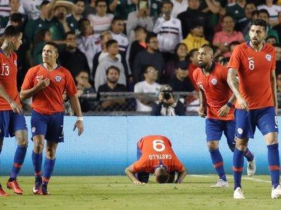 Chile vence a México con gol de última hora