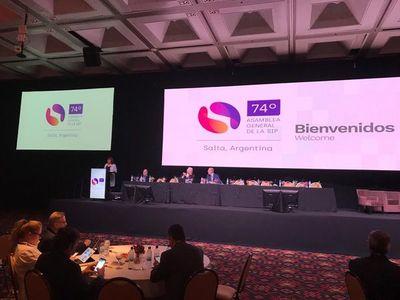La SIP analiza borrador sobre desafíos digitales, en Salta
