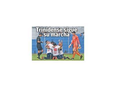 Trinidense sigue su marcha