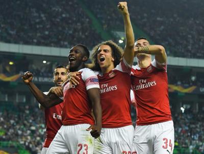 Arsenal estira su racha en la Europa League