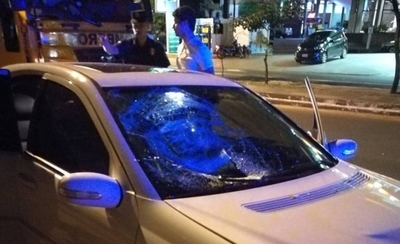 HOY / Auto atropelló a una mujer sobre Mariscal López