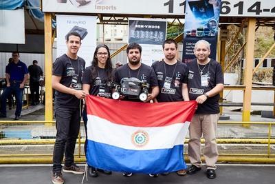 Jóvenes paraguayos son reconocidos en competencia robótica internacional