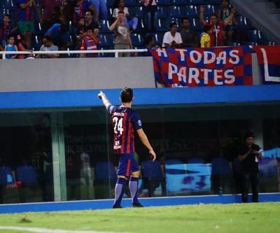 AUDIO: Cerro Porteño 3-1 General Díaz