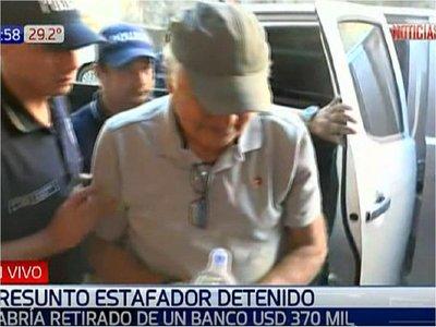 Supuesto estafador es detenido en San Lorenzo