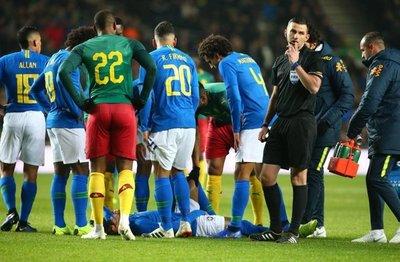 Lesión de Neymar no es grave